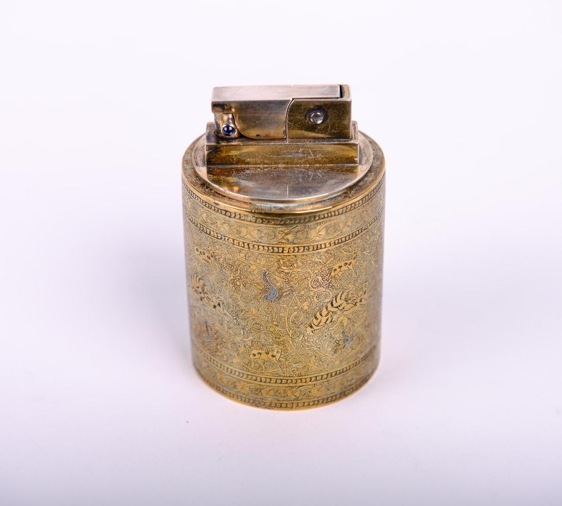 Cartier Paris Lighter with Persian Motif - 4