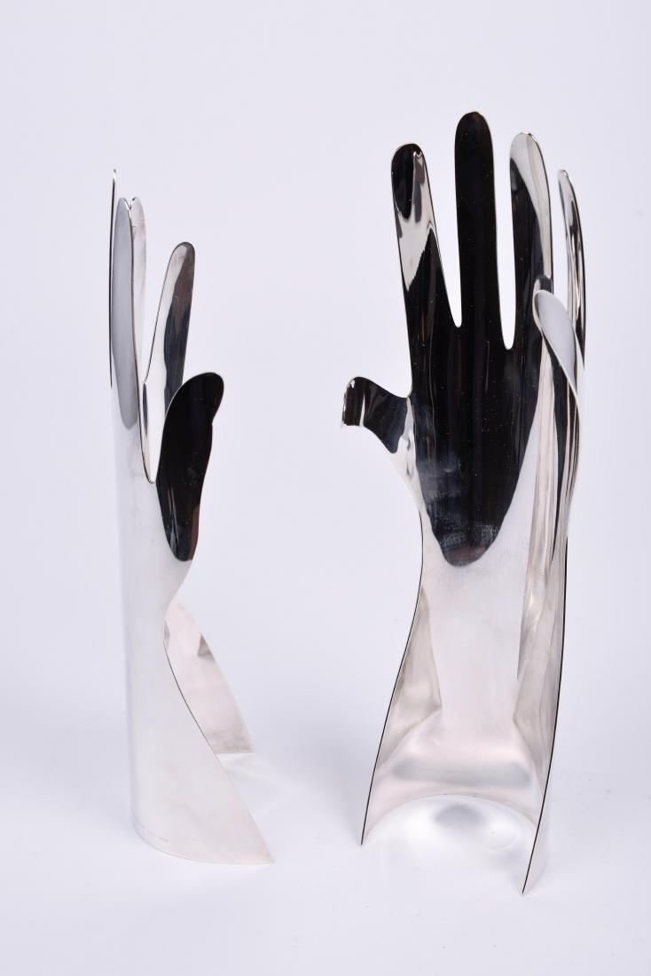 Lino Sabattini for Gio Ponti & Christofle Silver Hands