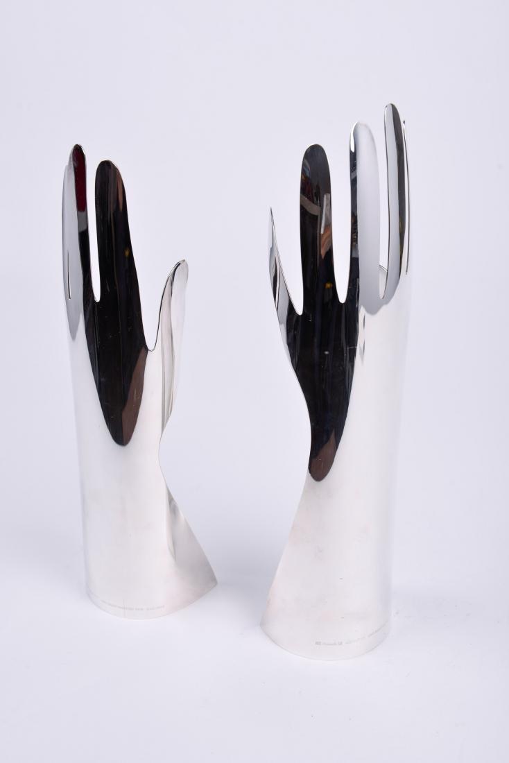 Lino Sabattini for Gio Ponti & Christofle Silver Hands - 4