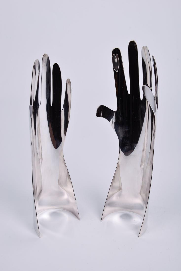 Lino Sabattini for Gio Ponti & Christofle Silver Hands - 5