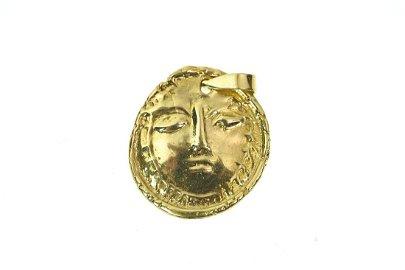 Pablo Picasso 18k Gold Medallion