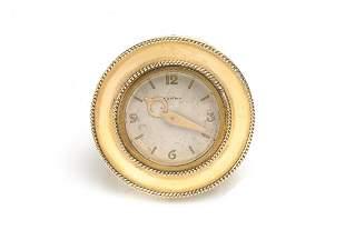 Cartier Gold Clock