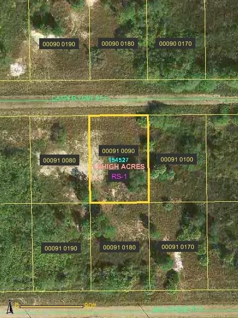 8A: Lee County, FL  - 850 Casper Yost St. E - 1/4 acre