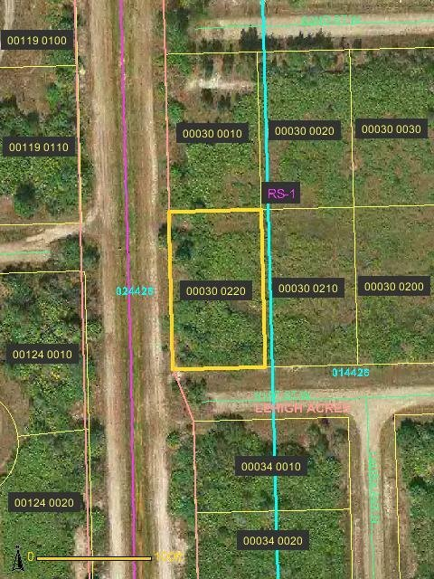 12A: Lee County, FL  - 3020 61st St W - 1/4 acre