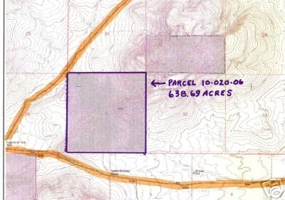 19A: LANDER COUNTY, NV - 638.7 AC - Bid and Assume Loan