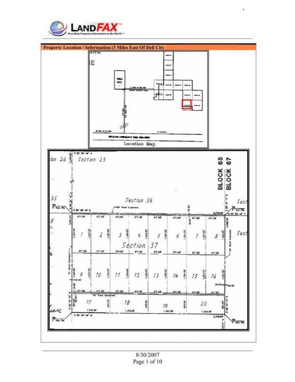 16D: HUDSPETH COUNTY, TX - 21.45 Acres - HIGH BID WINS!