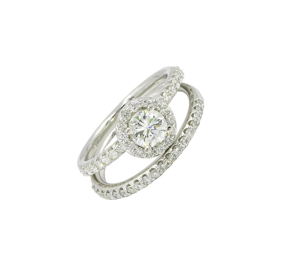 1.22 Ct. Round Cut Diamond Solitaire Engagement Bridal