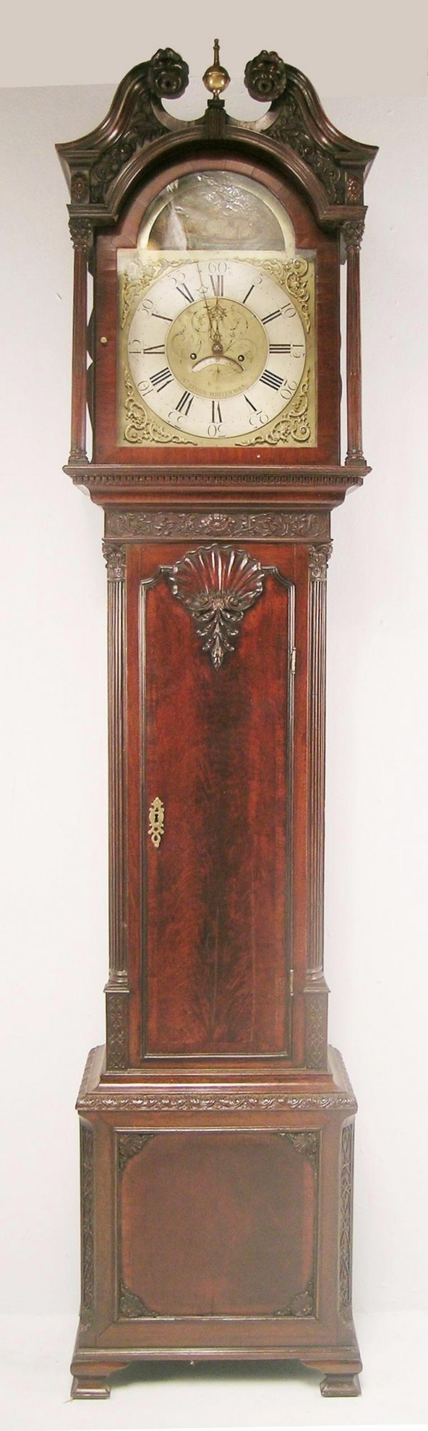 190C: A George III mahogany 'Lancashire Chippendale' st
