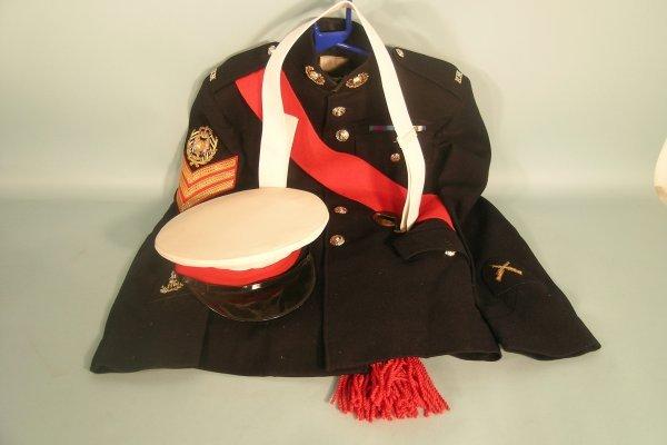 14D: Royal Marine No. 1 Service Dress jacket and trouse