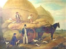 367: John Frederick Pasmore (1820-1871), 'A Harvesting