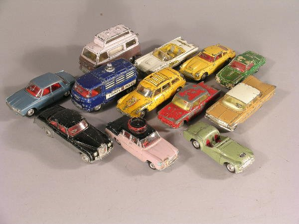 2B: A group of twelve Corgi toys dating from 1960s for