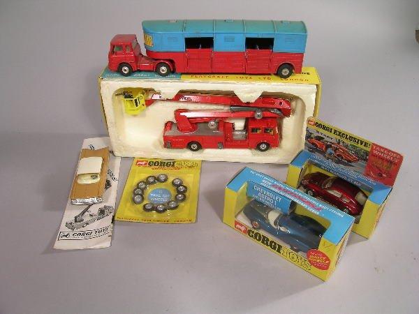 9B: A group of Corgi Toys to include No 1127, Simon Sno