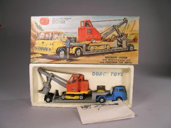 18B: A Corgi Toys gift set no 27, a Bedford tractor uni