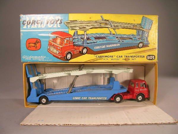 20B: A Corgi Major Toys 'Carrimore' car transporter no
