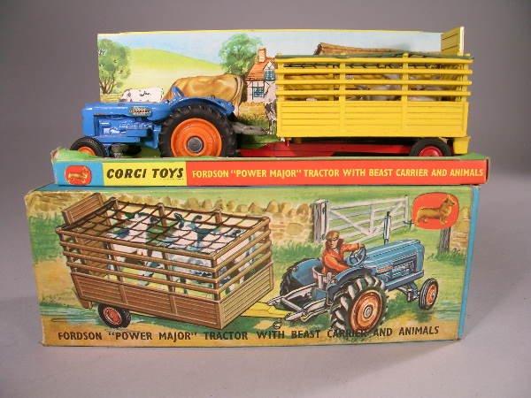 21B: Corgi Toys gift set no 33 containing a Fordson Pow