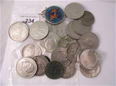 234C An assorted collection of coins to include a Char