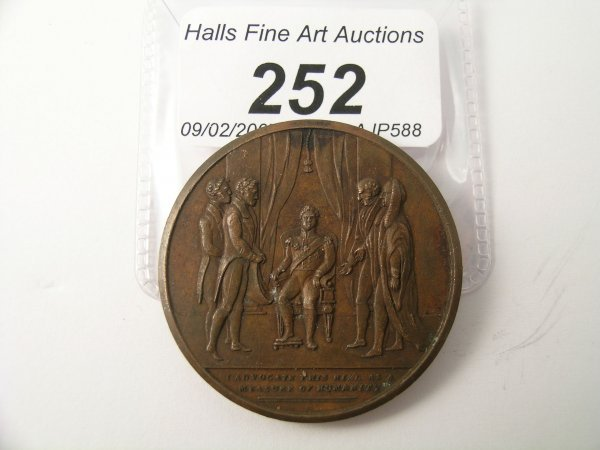 252C: A Slavery Abolished by Great Britain medallion da
