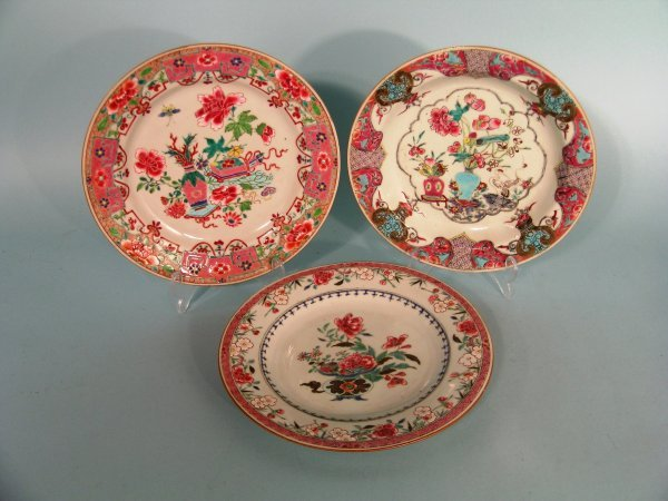 16B: A Chinese famille rose soup plate, Qianlong (1736-