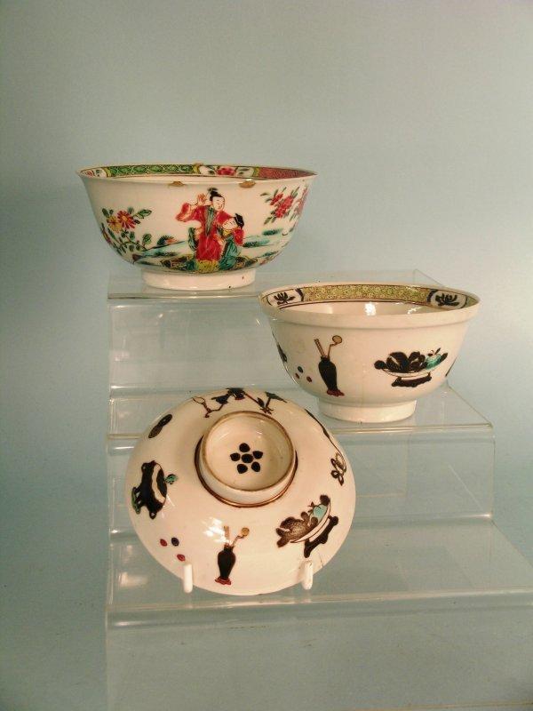 23B: A Chinese famille rose bowl, Qianlong (1736-95), d