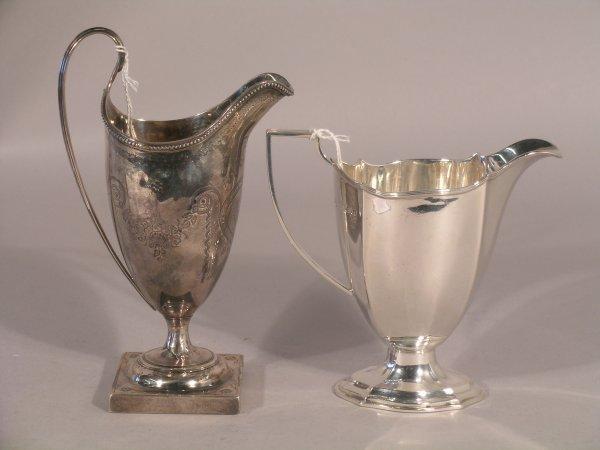 11C: A George III cream jug probably Thomas Shepherd, L