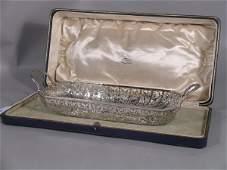 54C: A silver two handled basket, Wilson and Gill Birmi