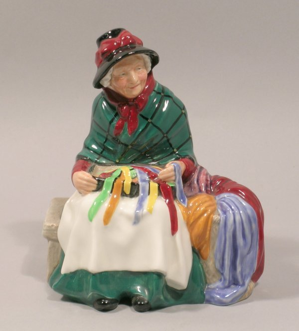 1D: A Royal Doulton figure Silks and Ribbons HN2017, de