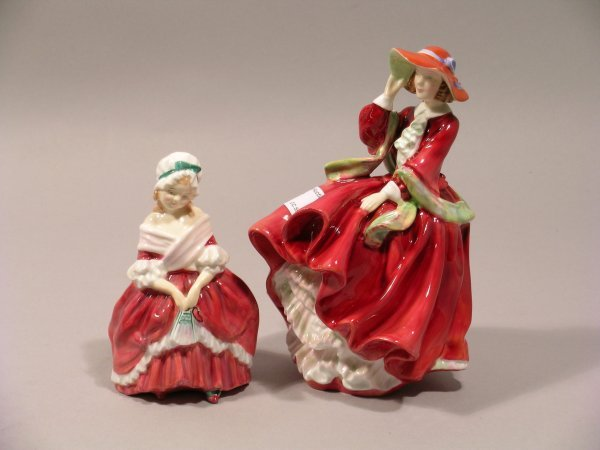 6D: Two Royal Doulton figures to include; Top o' the Hi