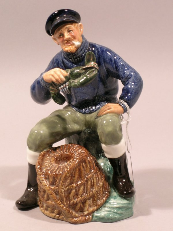 10D: A Royal Doulton figure The Lobster Man HN2317 from