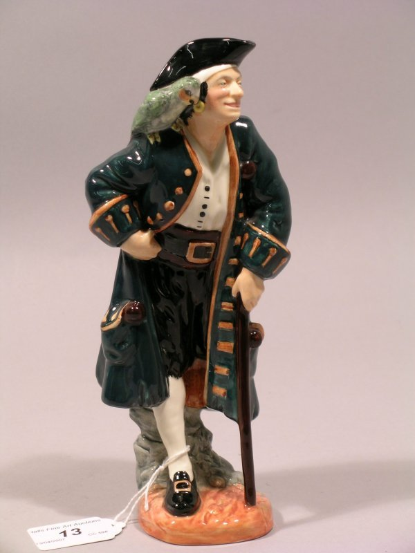 13D: A Royal Doulton figure Long John Silver HN2204 des