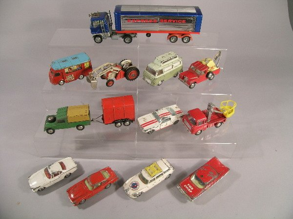 10B: A group of thirteen Corgi toys dating from 1960s (