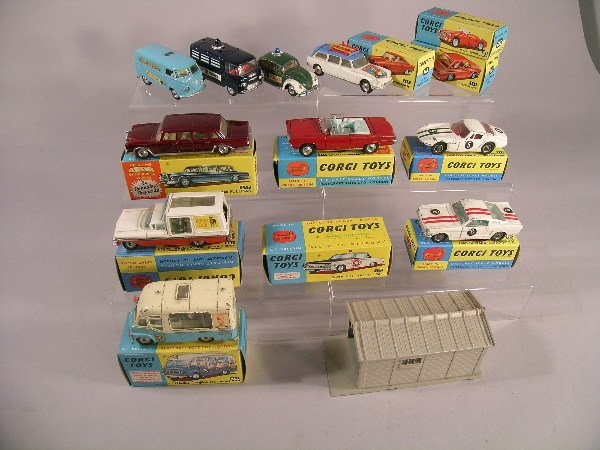 12B: A group of Corgi toys from the early 1960s to incl