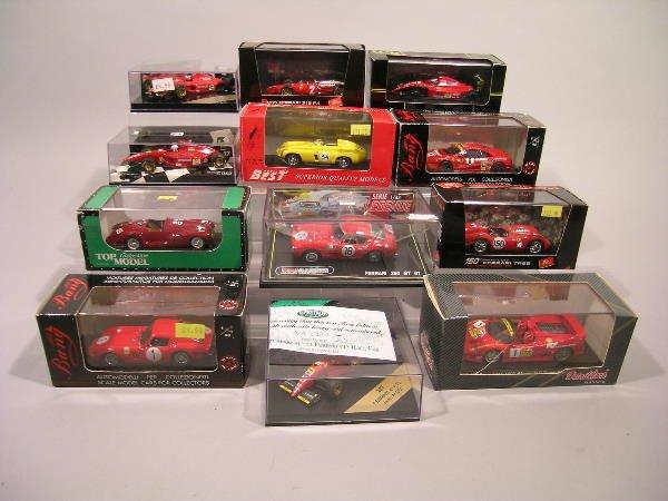 23B: A collection of twenty eight Ferrari 1/43 scale mo