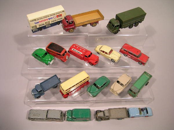 24B: A collection of approximately forty Dinky Toys fro
