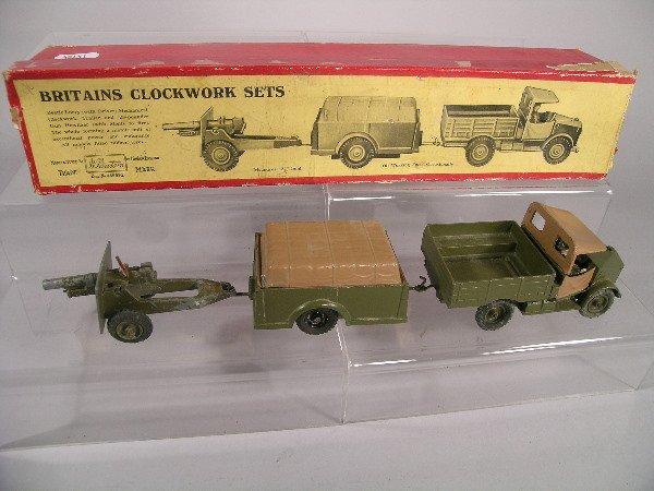 54B: A boxed Britains clockwork Beetle lorry, mechanica