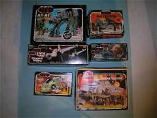 74B A group of early Star Wars vehicles to include a