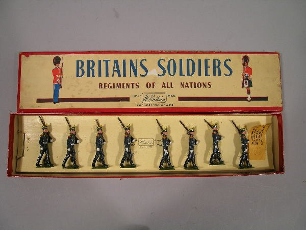 119B: Britains Set no. 216, Regiments of All Nations, a