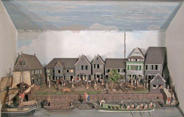 66D: Gerrit Schouten (1779-1839), 'The waterfront at Pa