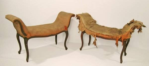 159D: A pair of window seats, late 18th / early 19th ce