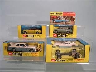 Four boxed Corgi Toys, no. 273 Rolls Royce Silver S