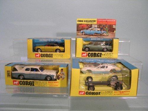 3E: Four boxed Corgi Toys, no. 273 Rolls Royce Silver S