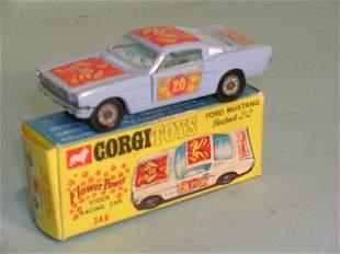 A boxed Corgi Toys no. 348, Ford Mustang fastback,
