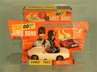 A boxed Corgi no. 336 James Bond Toyota 2000 from t