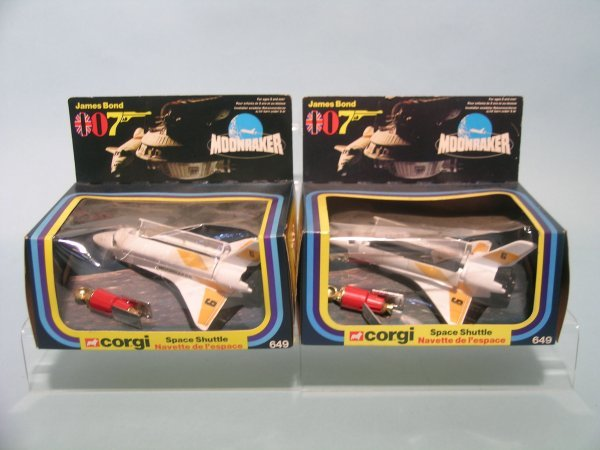 13E: A boxed and unopened pair of James Bond 007 Space