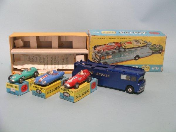 17E: A Corgi Major Toys gift set no. 16, Ecurie Ecosse