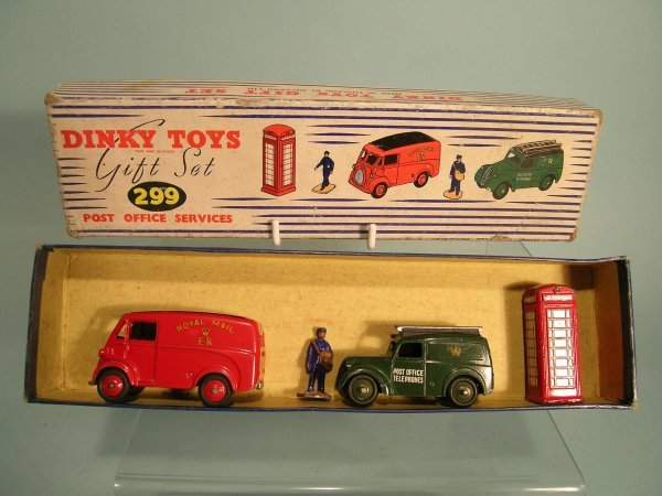 20E: A Dinky Toys gift set no. 299 (Post Office Service
