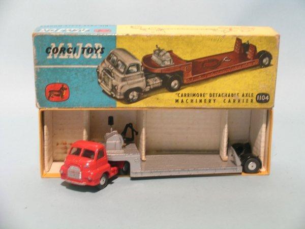 21E: A Corgi Major Toys Carrimoe machinery carrier no.