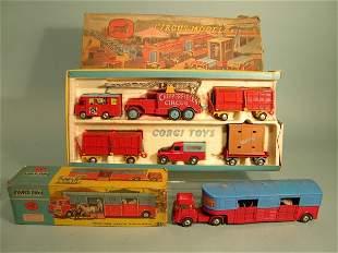 A Corgi Major Toys gift set no. 23, Chipperfield's