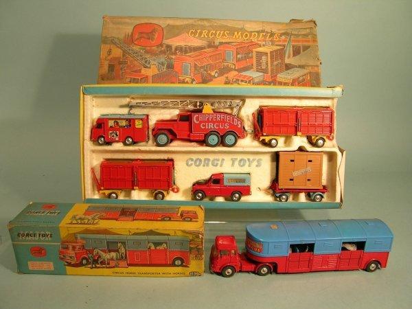 23E: A Corgi Major Toys gift set no. 23, Chipperfield's