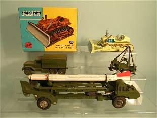 A Corgi Major Toys gift set no. 9, Corporal Missil