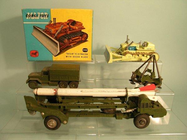 24E: A Corgi Major Toys gift set no. 9, Corporal Missil